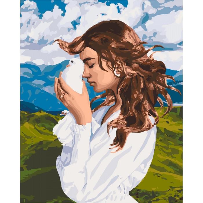 Картина по номерам Идейка - Девичьи мысли 40x50 см (КНО4626)