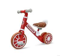 Дитячий велосипед-трансформер MOTION толокар 2 в 1 Червоний (SUN6611)