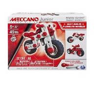 Конструктор Іграшка конструктор Spin Master арт 6026957 Meccano Junior 19,6*6*15 см мотоцикл