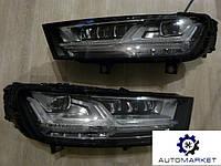 Фара передняя левая / правая MATRIX LED  Audi Q7 2015-2017 (4M)