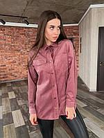 Женская рубашка / вельвет / Украина 13-252, фото 1