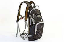 Рюкзак спортивный с жесткой спинкой (нейлон, 22х5х48см) Салатовый PZ-GA-2086_1, фото 3