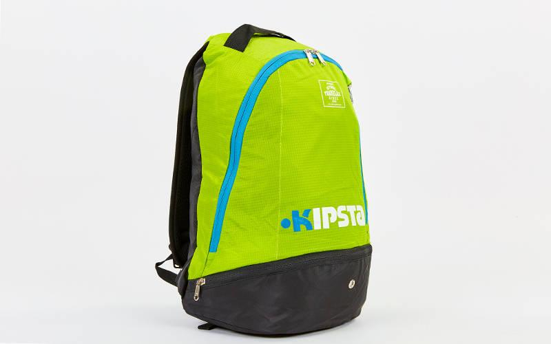 Рюкзак спортивный Kipsta (нейлон, 43х29х17см) Салатовый-черный PZ-2122_1