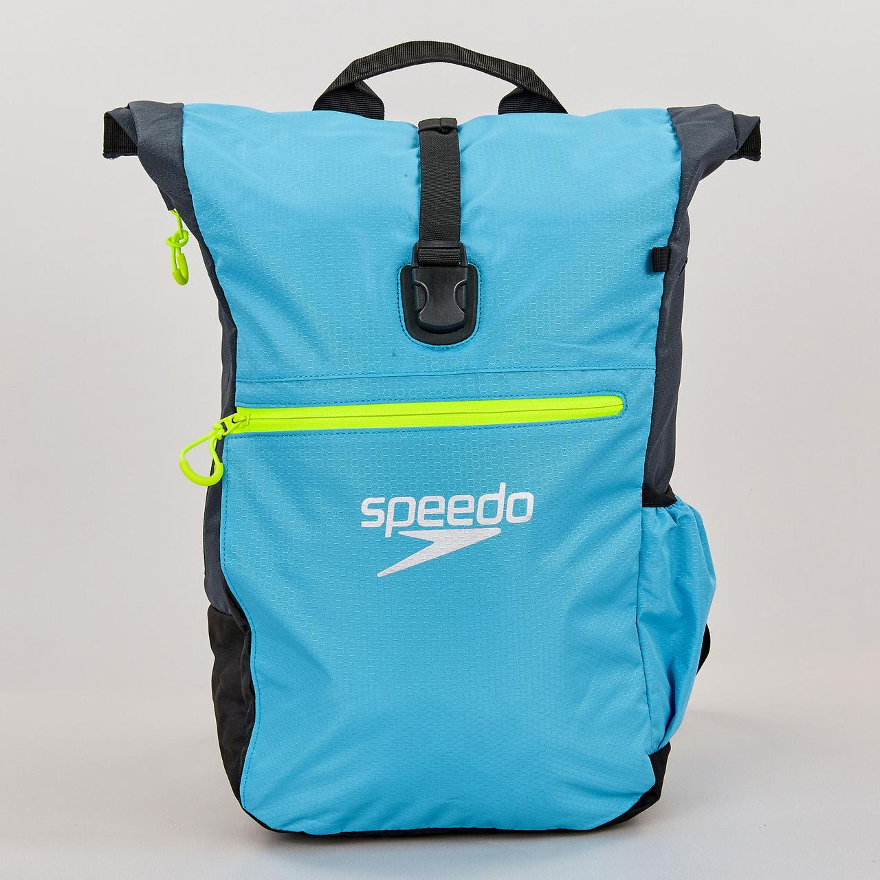 Рюкзак спортивный Speedo TEAM RUCKSACK III (полиэстер, 50х17х34см, голубой-серый) PZ-807688A670