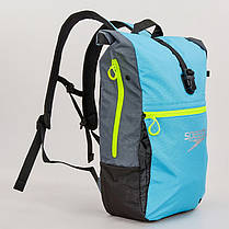 Рюкзак спортивный Speedo TEAM RUCKSACK III (полиэстер, 50х17х34см, голубой-серый) PZ-807688A670, фото 2