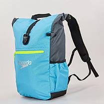 Рюкзак спортивный Speedo TEAM RUCKSACK III (полиэстер, 50х17х34см, голубой-серый) PZ-807688A670, фото 3