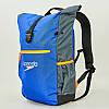Рюкзак спортивный Speedo TEAM RUCKSACK III (полиэстер, 50х17х34см, синий-серый) PZ-807688C299, фото 4