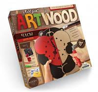 """Набір креативної творчості """"ARTWOOD настінний годинник"""" випилювання лобзиком(5), LBZ-01-01, 02, 03,"""