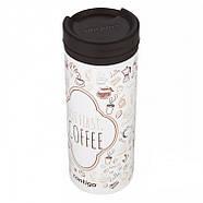 Стальная термокружка Contigo Twistseal Eclipse (470 мл) But First Coffee, фото 3