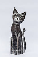 Статуэтка черного кота, 35 см