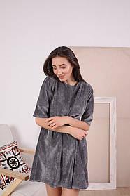 Платье / микровельвет / Украина 13-256