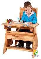 Комплект Парта  и стул (ширина 60см), фото 1