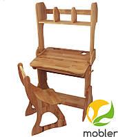 Комплект, парта, стул, надстройка (ширина 70см), фото 1