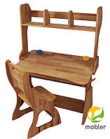 Комплект Парта, стул, надстройка(ширина 90см), фото 1