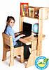Комплект: парта + стул + надстройка(90см)