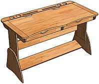 Комплект на заказ: Парта,2 стула, надстройка