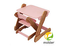 Столик и стульчик розовый