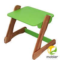 Столик зеленый