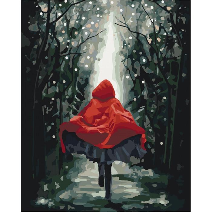 Картина по номерам Идейка - Красная Шапочка 40x50 см (КНО4541)