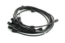 Провода зажигания ГАЗ 53 (9 шт) черн. (Цитрон). 53-3707078-02