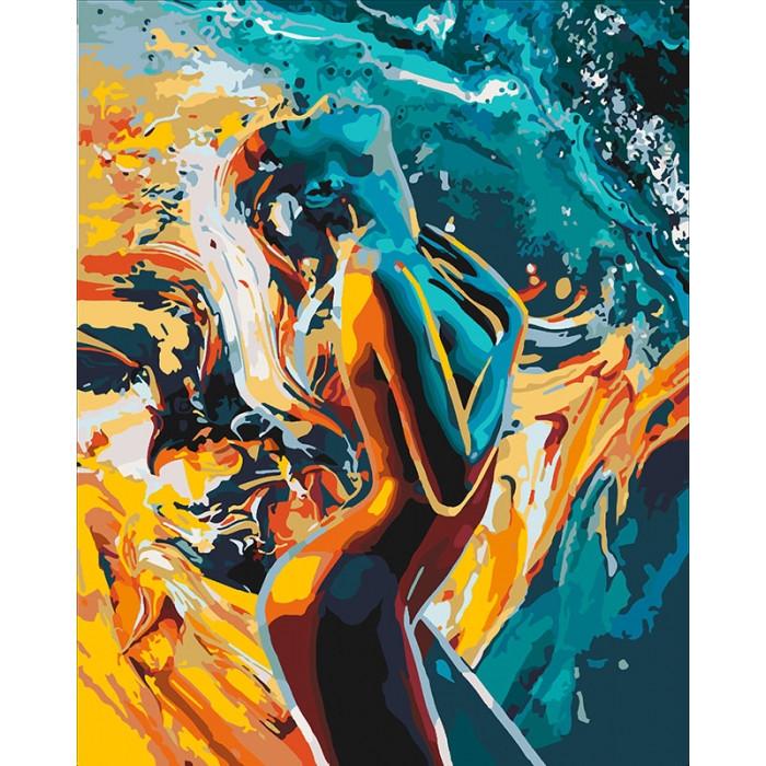 Картина по номерам Идейка - Страсть женщины 40x50 см (КНО4528)