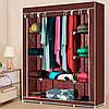 Портативный Тканевый Шкаф Органайзер Storage Wardrobe на 3 секции 88130