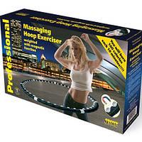 Массажный спортивный обруч Hula Hoop Professional для похудения, фото 1