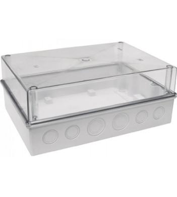 Распределительная коробка КМПн 5/16 прозрачная крышка, 300х214х120 IP55, ІЕК