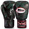 Перчатки боксерские PU на липучке Twins (12-16oz) Камуфляж коричневый 12 унции PZ-FBGVS3-ML_1, фото 3