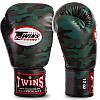 Перчатки боксерские PU на липучке Twins (12-16oz) Камуфляж коричневый 12 унции PZ-FBGVS3-ML_1, фото 4