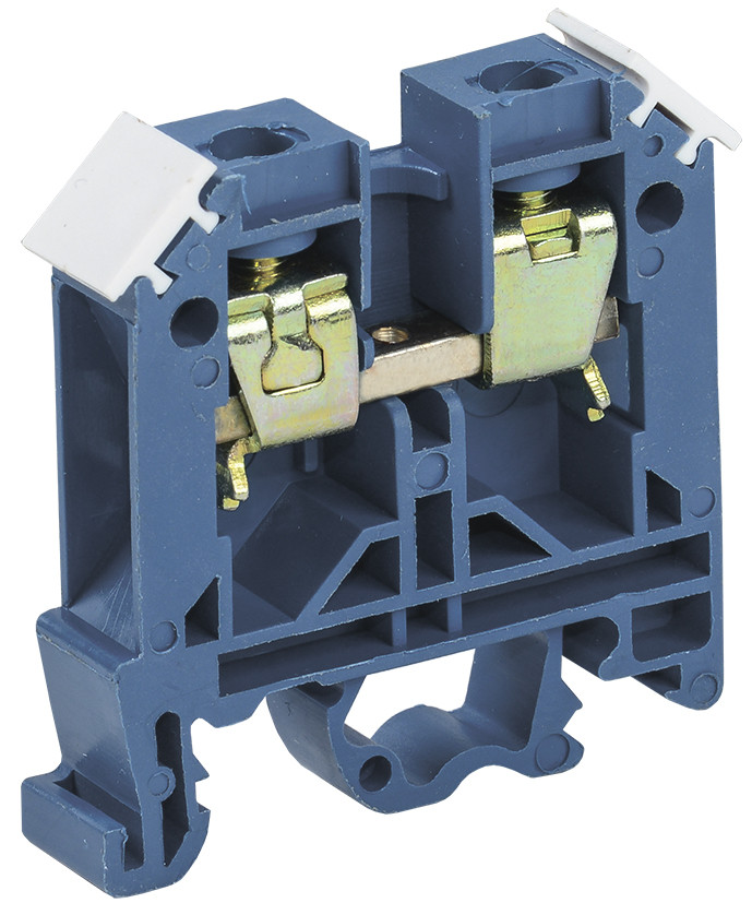 Зажим наборный IEK ЗНИ-2,5мм2 (JXB24А) синий (без маркера)