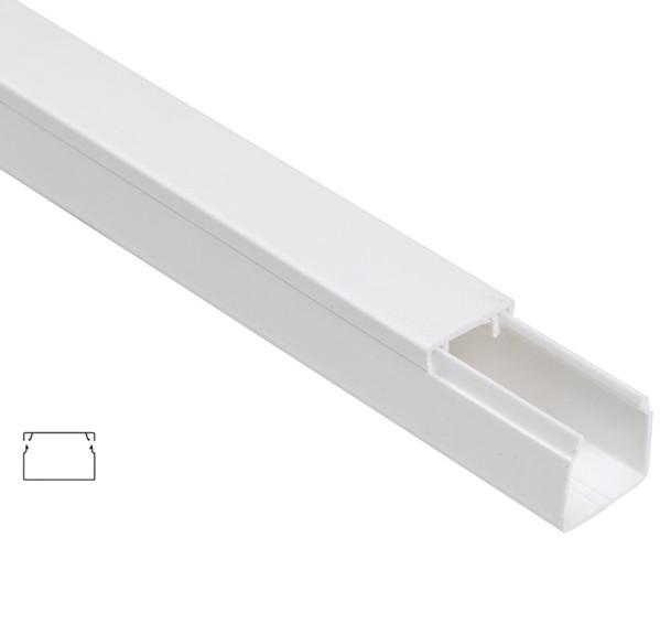 Белый кабель-канал 16х16 ЭЛЕКОР (2 м)