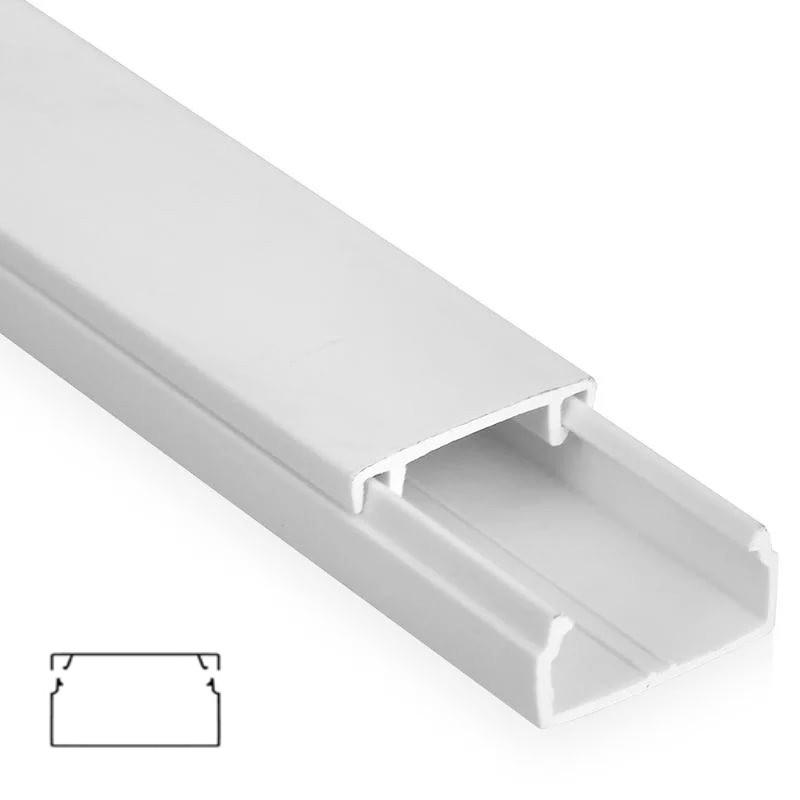 Кабель-канал пластиковый 40х16 ЭЛЕКОР (2 м)