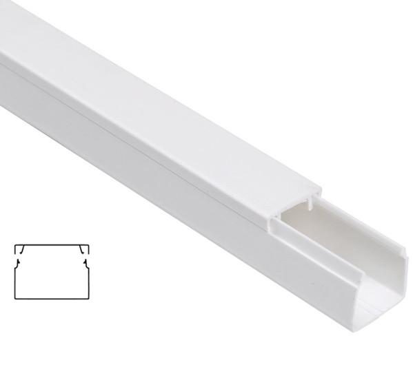Пластиковый кабель канал 40х25 ЭЛЕКОР (2 м)