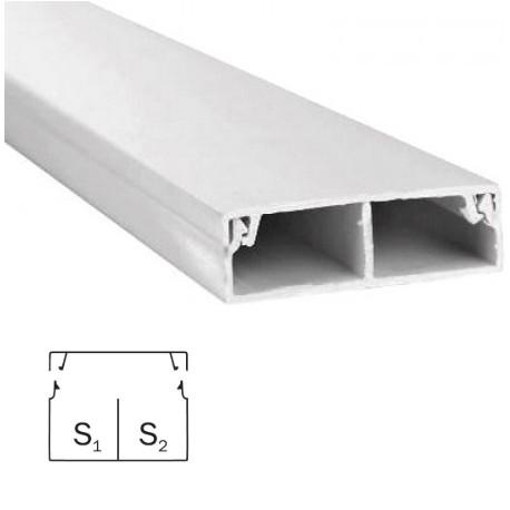 Короб для проводов 30/2х10 ЭЛЕКОР (2 м)