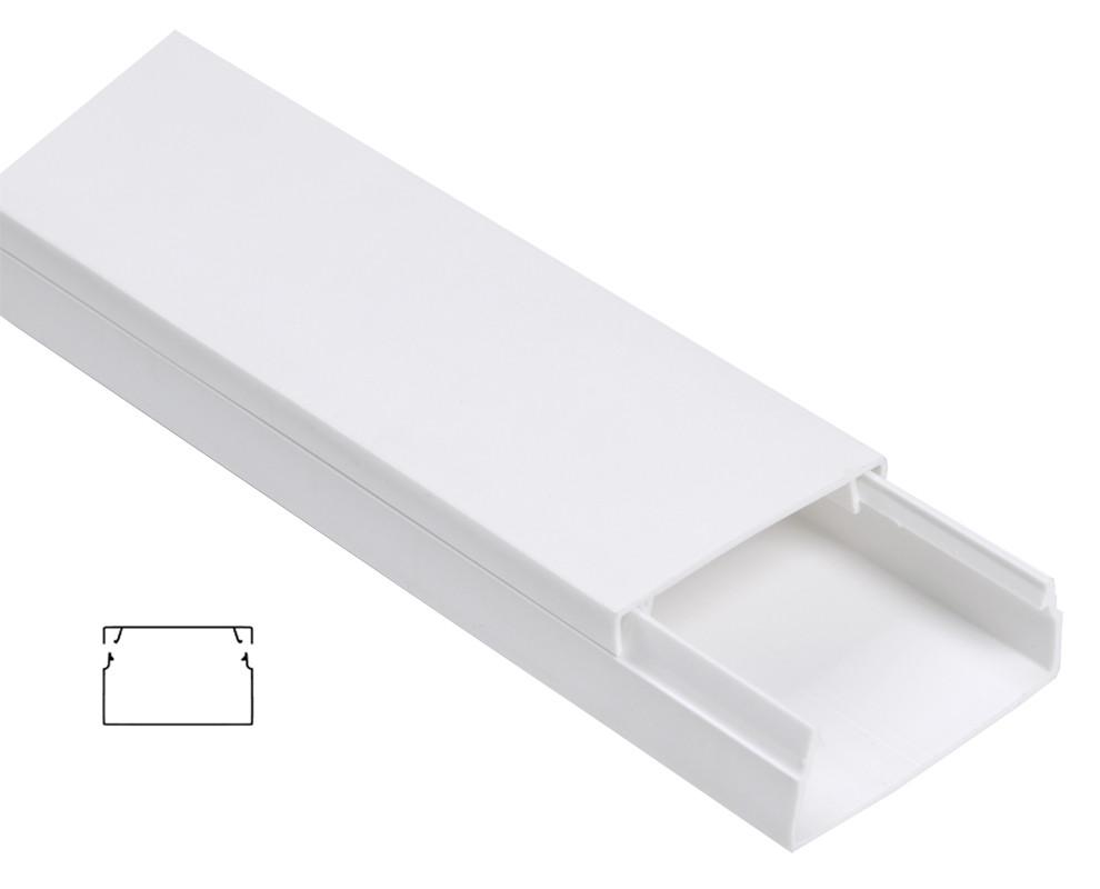 Кабельный канал пластиковый 60х40 ЭЛЕКОР (18 м)