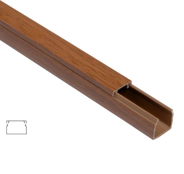 Короб для проводки 16х16 ЭЛЕКОР дуб. (84 м)