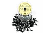 Пульки сталево-тефлонові Black Max Match Grade 4,5мм