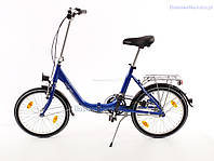 Складний велосипед MIFA 20 blau Nexus 3 Німеччина, фото 1