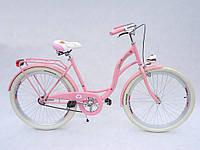 Велосипед VANESSA Vintage 26 pink Польша, фото 1