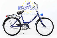 Складний велосипед Uniwersal 24 Blue Польща, фото 1