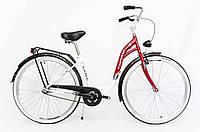 Міський велосипед Faktor Exell 28 Red Польща, фото 1