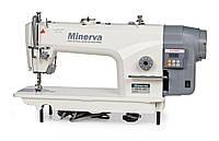 Minerva M818-JDE Промышленная прямострочная швейная машина с прямым приводом и позиционером иглы