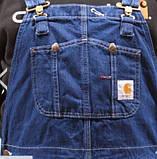 Джинсовый комбинезон Carhartt США, фото 6