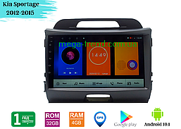"""Штатная магнитола Kia Sportage 2012-2015 (9"""") Android 10.1 (4/32)"""