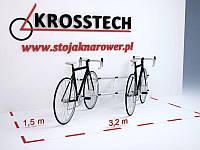 Велопарковка на 5 велосипедів Echo-5 Wall Польща