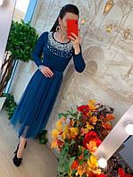Платье женское, стильное, миди, 211-0394-2