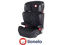 Автокресло Lionelo Hugo ISOFIX (15-36 кг) Eco-leather Black Польша
