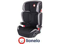 Автокресло Lionelo Hugo ISOFIX (15-36 кг) Eco-leather Grey Польша