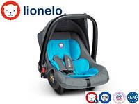 Автокресло-автолюлька Lionelo Noa Plus (0-13 кг) Vivid Turquoise Польша